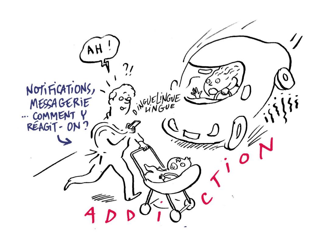 Infobésité : l'addiction aux notifications. Êtes vous capables de ne pas regarder ?