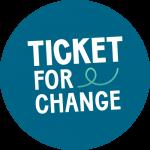 Ticket for Change (association) : logo